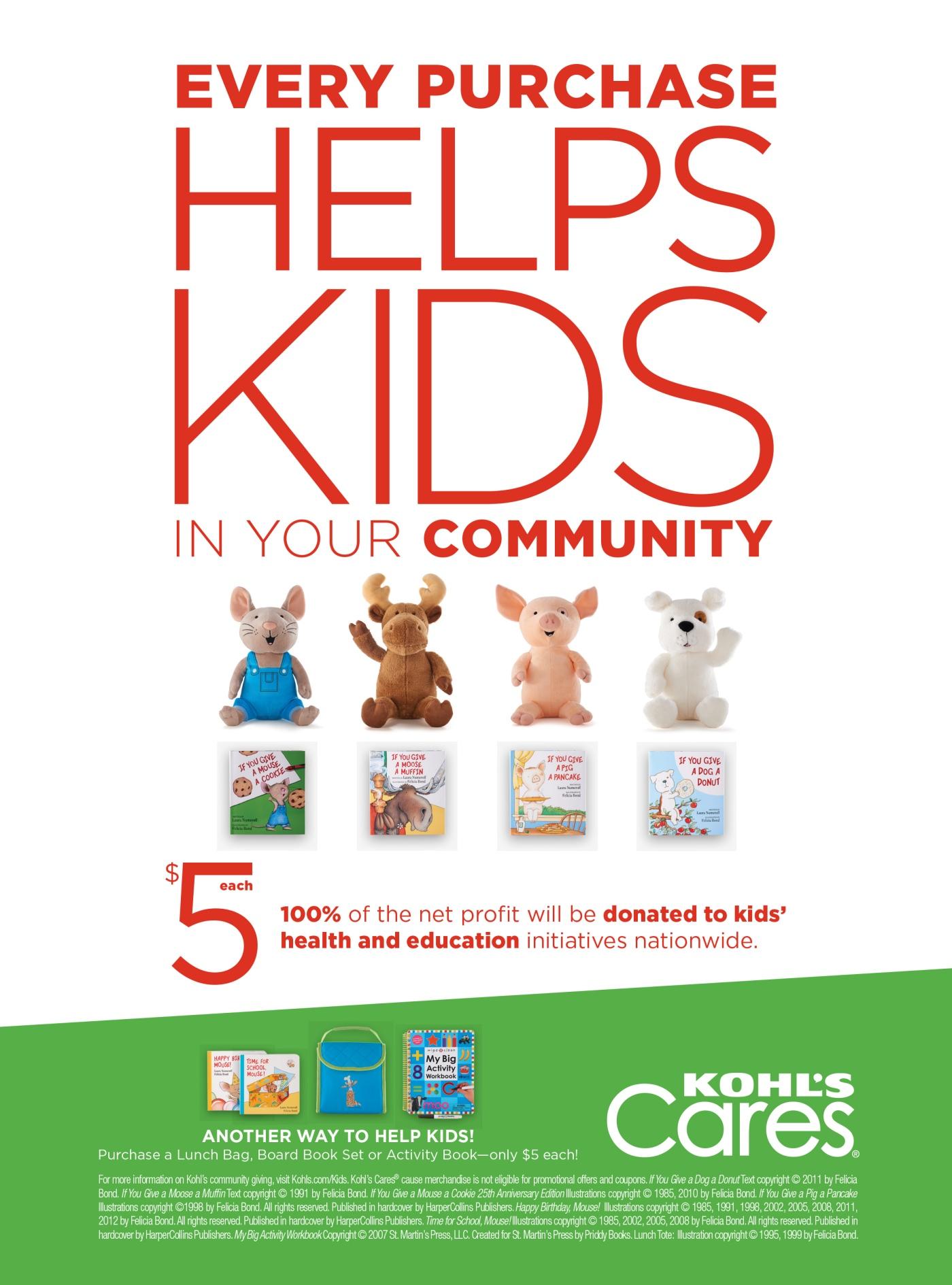 Kohl\'s Cares for Kids – CHRISTUS Santa Rosa Foundations